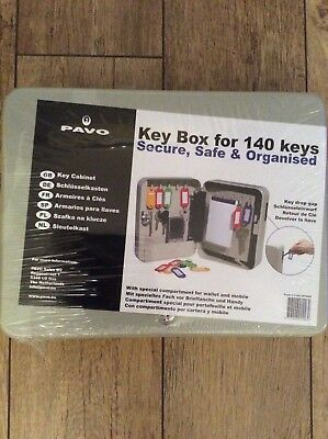 Brand New Pavo Key Box For 140 Keys