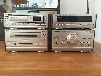 Technics SL-HD81 Mini HiFi SE-HD81,ST-HD81,RS-H81,SL-HD81. USED.