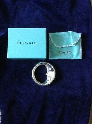 Tiffany Man In The Moon Silver Rattle