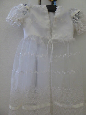 Christening lace dress size 2 made in USA