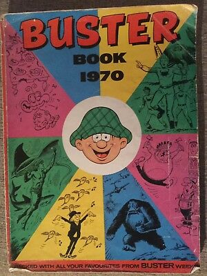 The Buster Book 1970 Fleetway Annual