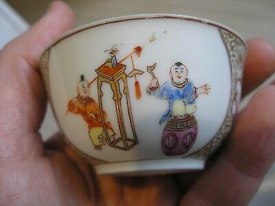 Antique Hand Painted Chinese Bowl