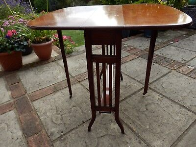 late Victorian Sutherland  Drop-Leaf Table