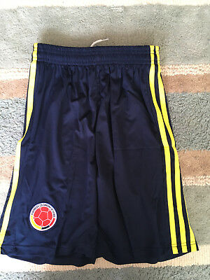 Colombia Adidas World Cup Shorts 2018 Size Small Brand New