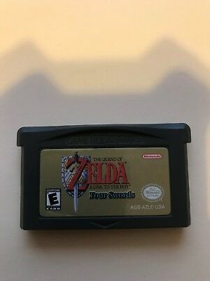 Legend of Zelda: Link to the Past Four Swords The Minish Cap Nintendo GBA