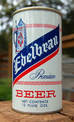 Gorgeous Edelbrau Pull Tab Beer Can! Wide Seam From General Example!