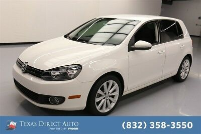 2014 Volkswagen Golf TDI Texas Direct Auto 2014 TDI Used Turbo 2L I4 16V Automatic FWD Hatchback