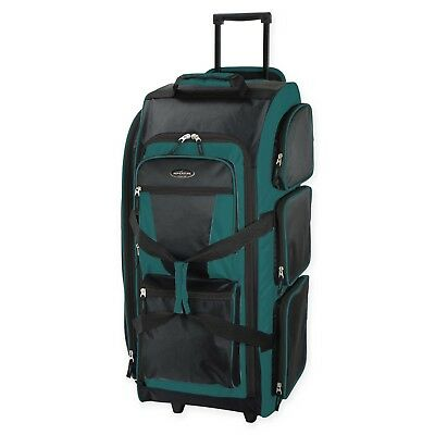 """Travelers Club 30"""" """"Xpedition"""" 7-Pocket Standing and Rolling Duffel Luggage"""