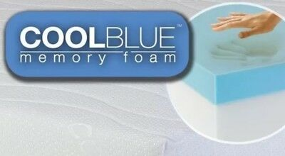Cool Blue Memory Foam Mattress Topper