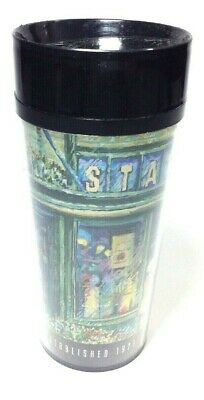STARBUCKS Coffee 16 oz Thermo-Serv Travel Mug Pike Place Seattle Public Market