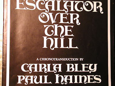 3 LP  :  Carla Bley u.a. :  Escalator oder the hill
