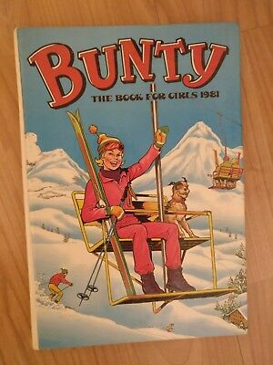 Bunty - the book for girls 1981 - quick delivery