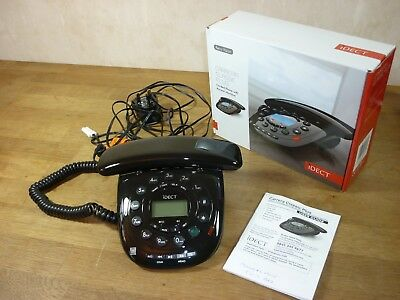 Brand New Idect Carrera Classic Plus Corded Phone with Answer Machine