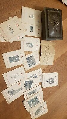 Tarot Mlle Lenormand Paris antik rar alt selten