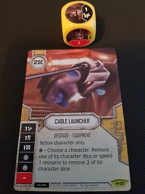 Star Wars Destiny #21 Cable Launcher - Empire at War