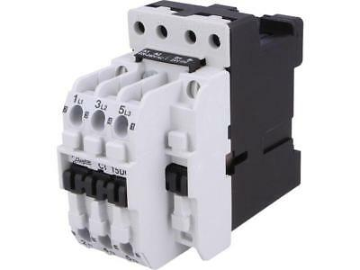 037H806366 Contactor3-pole 230VAC 15A NO x3 DIN, panel CI 15  DANFOSS