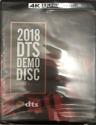 Special Listing Dts 2018 Demo 4K Uhd Bluray Ces2018 Dts:x Dtsx