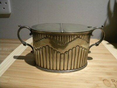 silver plated spoon warmer Antique / vintage. ?