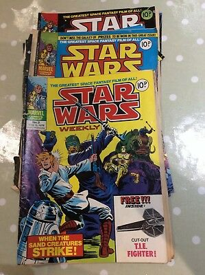 Marvel Comics Group Star Wars Weekly Comics 1978/79