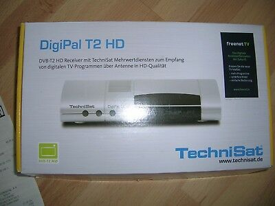 TECHNISAT DigiPAL T2 HD, DVBT-T2 Receiver, digitale TV Programme über Antenne