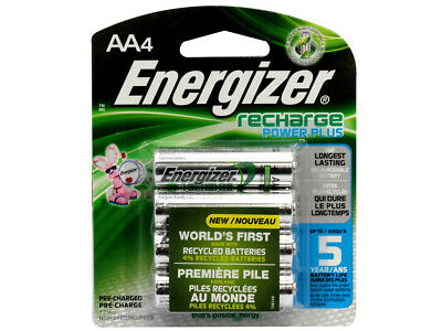 5 x Energizer NH15BP 1.2V NiMH 2300mAh Batteries - 4 Piece