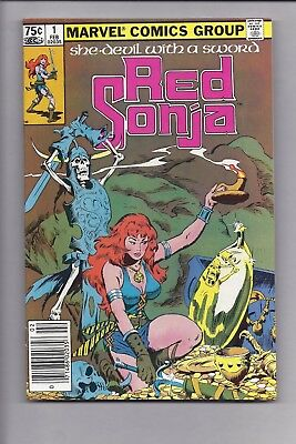 High Grade Canadian Newsstand Edition $0.75 Red Sonja #1