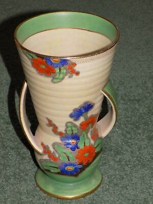 Crown Devon Fieldings Vase Art Deco