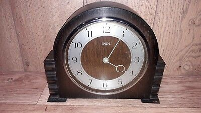Vintage Smiths 8 Day Mantel Clock