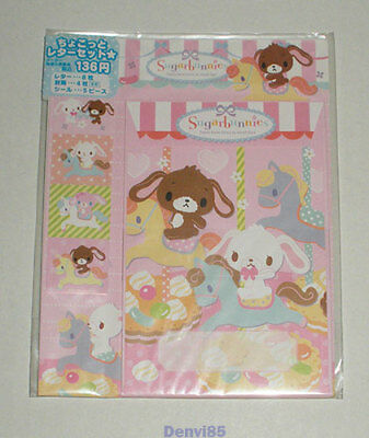 VERY CUTE! 2012 Sanrio SUGAR BUNNIES Stationery Set from JAPAN! NEW!