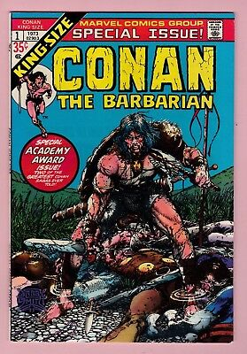 Conan the Barbarian King-Size Special Issue #1, Barry Windsor Smith 1973 9.4 NM