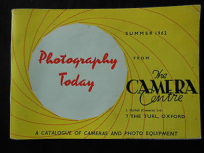 Vintage Photography Today Catalogue Of Cameras And Photo Equipment 1962