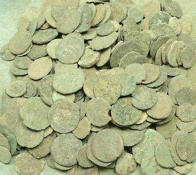 Lot Of 1 Lb. Roman Bronze Coins