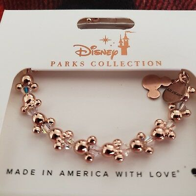 Disney Minnie Icons Wrap Alex and Ani Rose Gold Finish New with Tags