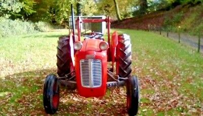 ferguson 35 tractor TVO with front and rear loaders