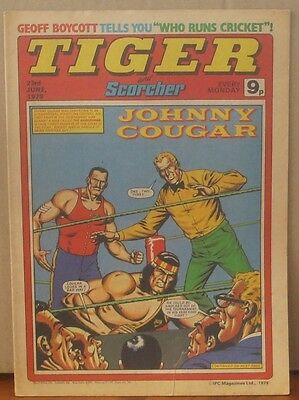 TIGER and SCORCHER 23rd June 1979 Johnny Cougar Hotshot Hamish Billy's Boots