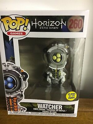 POP Games Glow in the Dark Horizon Zero Dawn #260 Watcher Alerted