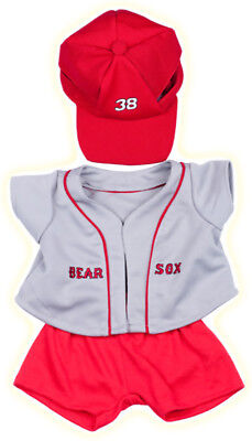 "Baseball Teddy Bear Outfit Clothes Fits Most 8"" - 10"" Build-A-Bear And More - Te"