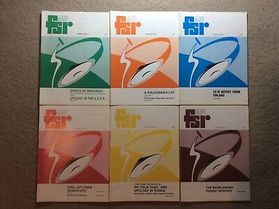 Complete Set Vol 27 Flying Saucer Review Magazine FSR UFO