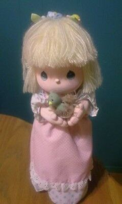 "1988 MUSICAL 12""  DOLL - NO DEFECTS 1 Precious Moments Four Seasons Spring 16510"