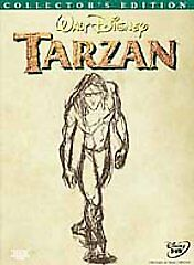 *Walt Disney Tarzan*2 Disc DVD*Collector's Edition*New & Factory Sealed*