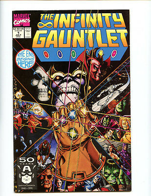 Infinity Gauntlet 1 nice shape Thanos Silver Surfer