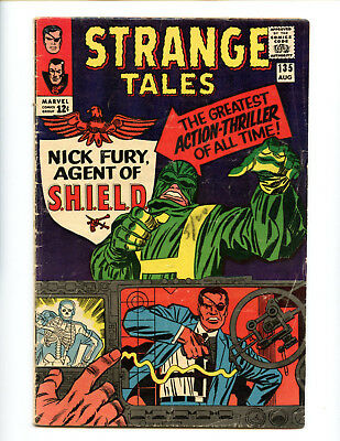Strange Tales 135 Key book first Nick Fury Agent of SHIELD