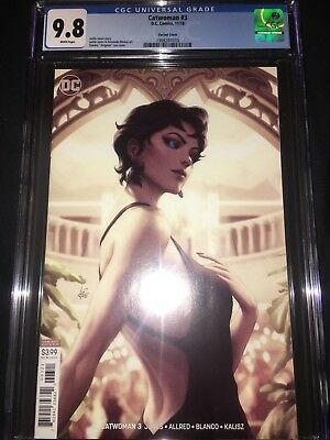 Catwoman #3 CGC 9.8 - Artgerm Variant Cover - 2018
