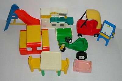 Little Tikes Dollhouse Furniture Toys Accessories Lot