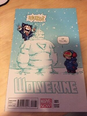 Wolverine Issue 1 Skottie Young Variant May 2013