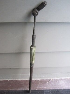 "Antique 33.5"" Long Solid Brass Garden Pump Hand Sprayer"