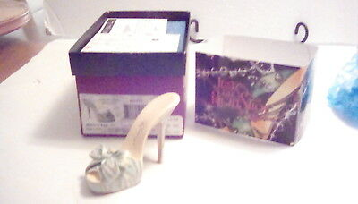 Just the Right Shoe Robins Egg Mini shoe collectible