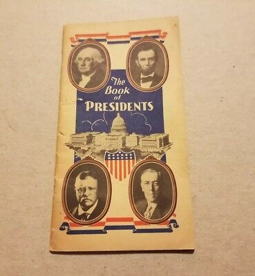 Vintage 1940 The Book of Presidents Advertisement State Bank of Niles Michigan