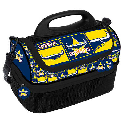 North Queensland Cowboys NRL Insulated Lunch Dome Cooler Bag Lunch Box NEW 2018