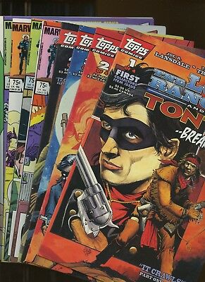 Lone Ranger and Tonto 1-4; Rawhide Kid (v.2) 1-4 *8 Books* Two complete series!